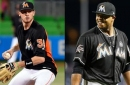 Marlins' JT Riddle, Edinson Volquez out for the rest of the season