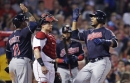 Red Sox 12, Indians 10: Indians blow three leads, lose in ninth