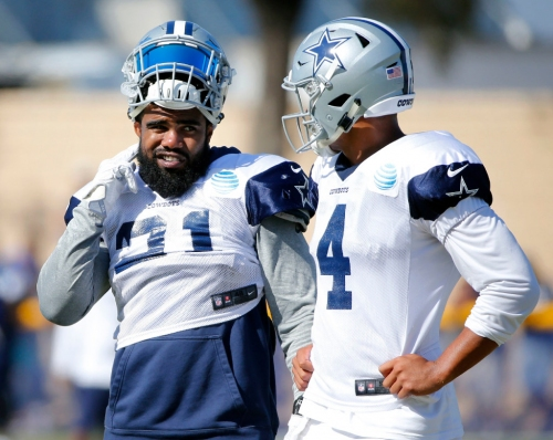Rick Gosselin to Peter King: Ezekiel Elliott will figure out what he has to lose, 'straighten out his act' soon