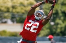 Tim Hightower got first 1st team rep of 49ers' Monday practice