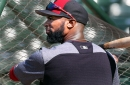 Austin Jackson isn't the first Indians' outfielder to fly into Boston's bullpen at Fenway Park