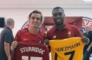 Liverpool fans ask Antoine Griezmann to join after he meets with Daniel Sturridge