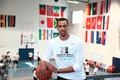 Utah Jazz's Thabo Sefolosha reconnects with roots at Basketball Without Borders in South Africa