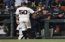 Ty Blach's surprising homer, roster additions Parker and Jones lead Giants to gleeful victory over A's