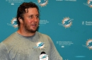 Ted Larsen feared to have torn biceps for Dolphins