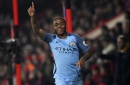 WATCH: Raheem Sterling scores nice volley as City finish West Ham