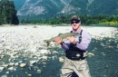 Peyton Manning went fishing with a bear and 3 cubs right behind him
