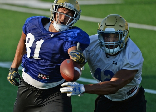 Highlights from Friday's UCLA football practice