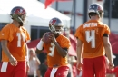"""Jameis Winston: """"Our job is primarily to protect the football"""""""