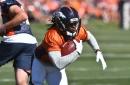 Jamaal Charles looks dynamic at Broncos practice