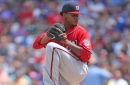 Edwin Jackson moves past rough first in Nationals' loss to Cubs in Wrigley Field...