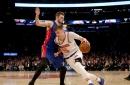 Enjoy Kristaps Porzingis's splendid return to basketball action in the NBA Africa Game