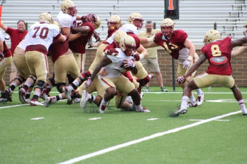 QB Anthony Brown Looks Strong After First Week Of Practice