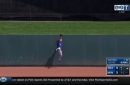 WATCH: Carlos Gomez makes leaping catch at wall vs. Minnesota