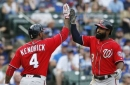 Wieters hits grand slam as Nationals beat Cubs 9-4 (Aug 06, 2017)