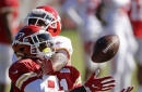 Chiefs wide receivers focus of attention in training camp