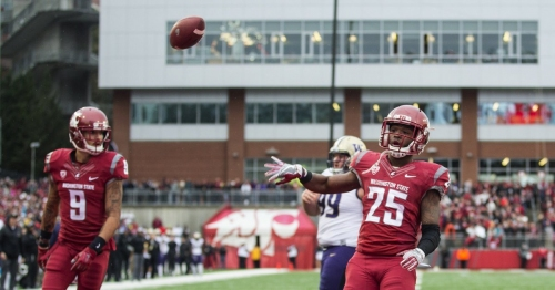 WSU's great dilemma: Too much talent at running back, too little playing time to distribute