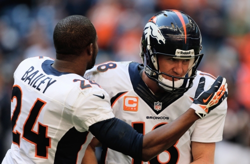 When will Champ Bailey and Peyton Manning be eligible for Hall of Fame?
