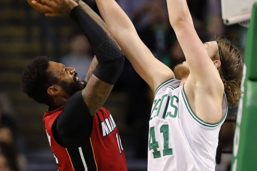 Should James Johnson or Kelly Olynyk start for the Heat?