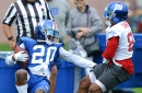 Why Giants' top D-back loves facing Beckham and Marshall