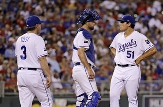 Cards hit 3 homers, pound Royals 10-3 for 4th straight win (Aug 08, 2017)