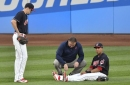AL Central: Michael Brantley sustained sprained ankle
