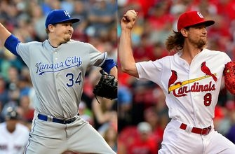 Suddenly mashing Cardinals look to make it three in a row over Royals