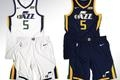 Utah Jazz unveil first two new uniforms for 2017-2018 season