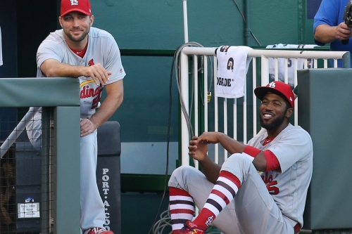 Adam Wainwright and Dexter Fowler got on the wrong bus - A Hunt and Peck