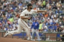 Bumgarner gets 2nd win since return as Giants top Cubs 3-1 (Aug 09, 2017)