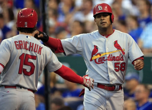 Given chance by Cardinals, Jose Martinez is seizing it