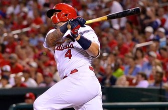 Coming off a lift from #RallyCat, Cardinals go for sweep of Royals
