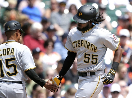 Pirates beat Tigers on strength of Josh Bell's home run