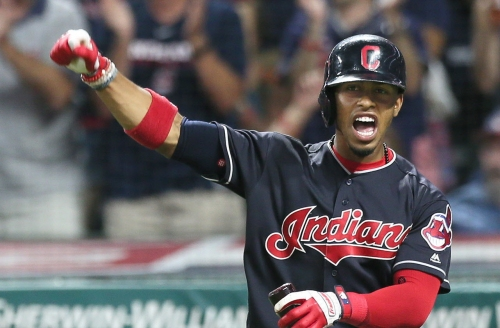 Cleveland Indians, Tampa Bay Rays starting lineup for Thursday, Game No. 112