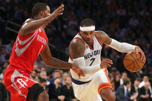 Knicks, Rockets 're-engage' in discussion on trade for Carmelo Anthony