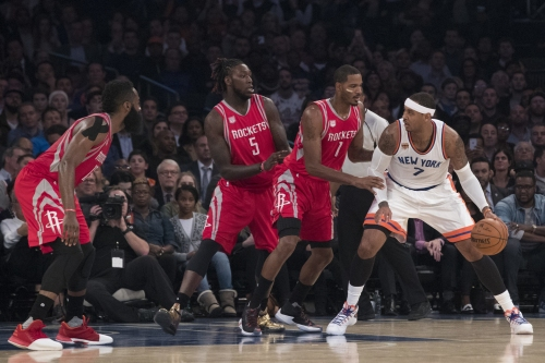 NBA trade rumors 2017: Carmelo Anthony trade talks resume between Knicks, Rockets (report)