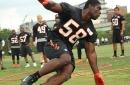 Carl Lawson in Cincinnati Bengals Training Camp