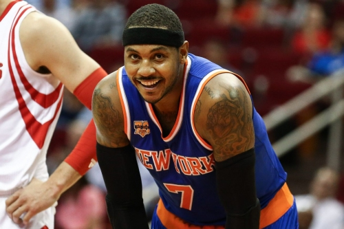 The Knicks and Rockets have re-engaged in Carmelo Anthony trade talks