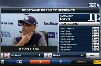 Kevin Cash: We had a chance to win simply because of Blake Snell