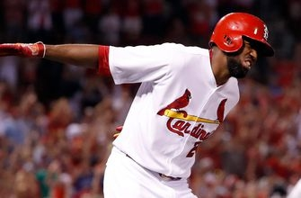 Fowler's grand slam powers Cardinals to I-70 Series sweep of Royals