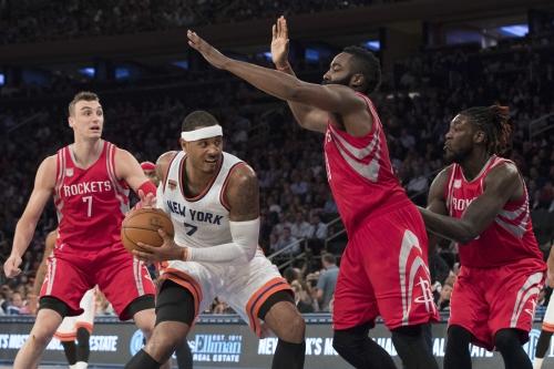 Knicks, Rockets renew Carmelo trade talk (with a twist): report