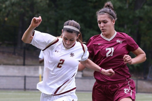 The 2017-18 Boston College Athletics Season Begins: Women's Soccer Travels to UConn