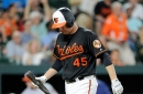 With Mark Trumbo back from the DL, the Orioles need his bat to heat up