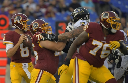 Five observations from the Redskins' preseason opener against the Ravens
