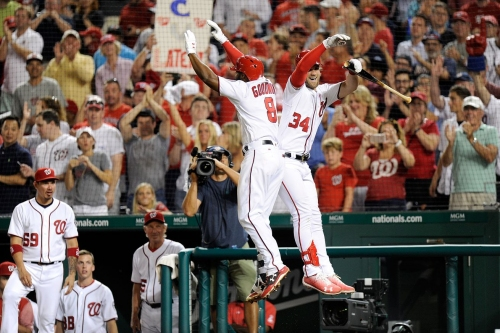 Washington Nationals' lineup for series opener with San Francisco Giants...