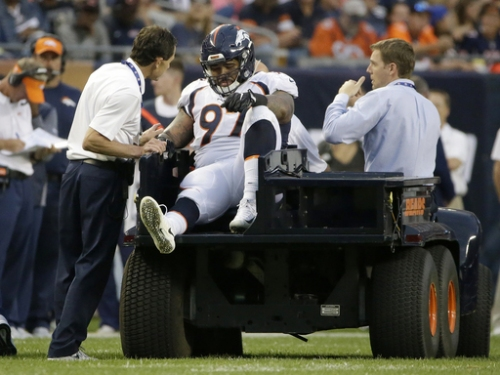 AP Source: Broncos' Billy Winn out for 2017 with knee injury The Associated Press