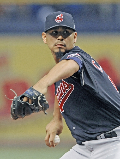 Carlos Carrasco takes no-hitter into 7th inning as Cleveland Indians blank Rays, 5-0