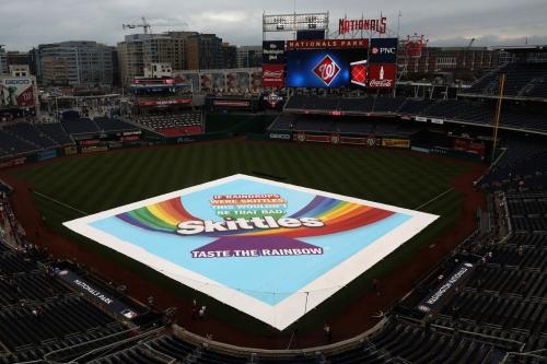 Washington Nationals and San Francisco Giants' series opener postponed; split doubleheader Sunday