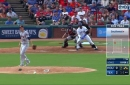 WATCH: Carlos Gomez knocks in 2 RBI in 3rd vs. Astros