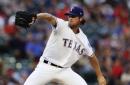 Rangers beat Astros after Hamels' 7 scoreless innings